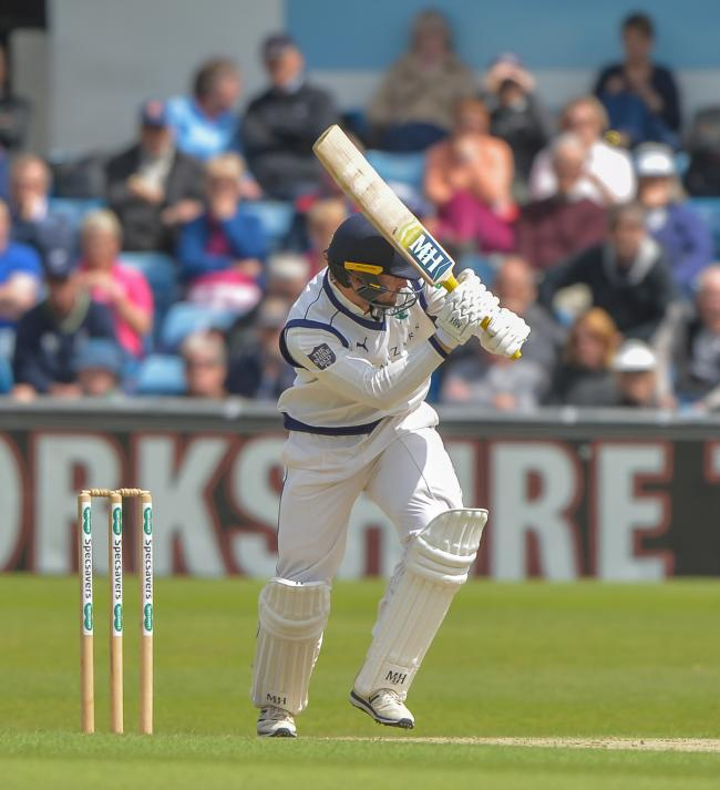 FRAINE FORECAST: Yorkshire debutant Will Fraine, who says the side are aiming high this season. Picture: Ray Spencer