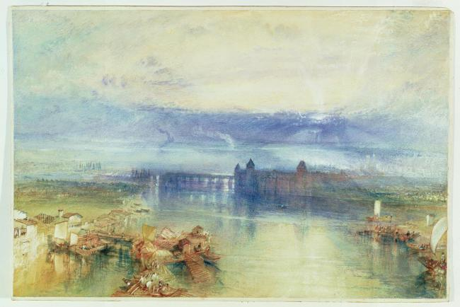 IN THE SPOTLIGHT: Constance, 1842, watercolour, by Joseph Mallord William Turner