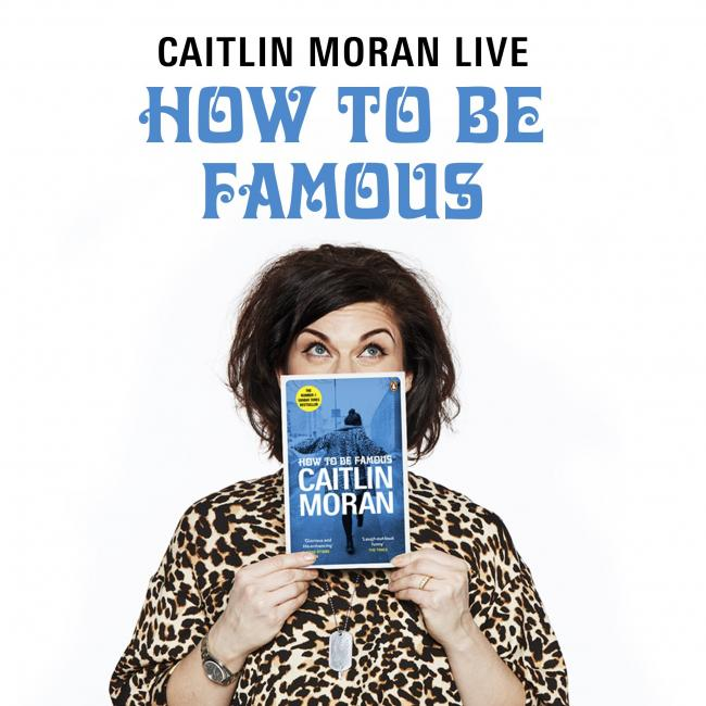 BROUGHT TO BOOK: Author Caitlin Moran drew full house