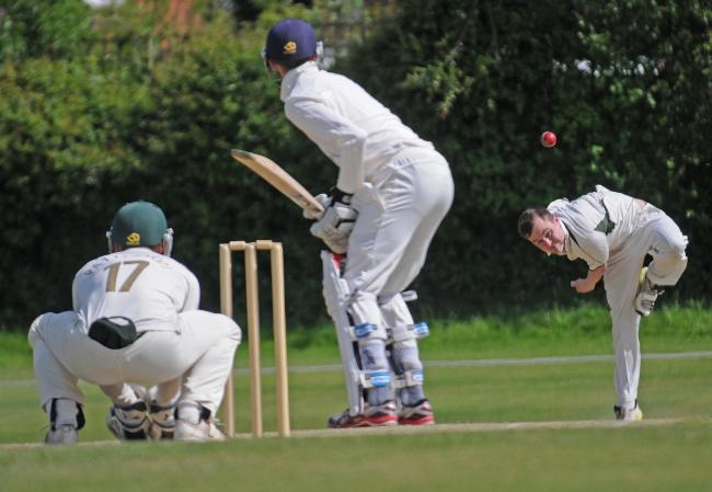 FROM THE TOP: Acomb batsman Joe Dale's quickfire 66 was not enough to prevent a losing draw at high-flying rivals Driffield Town. Picture: David Harrison