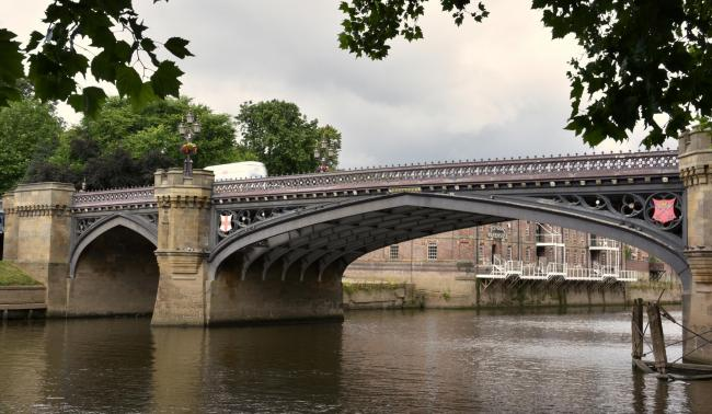 Skeldergate Bridge in York. Picture: Frank Dwyer