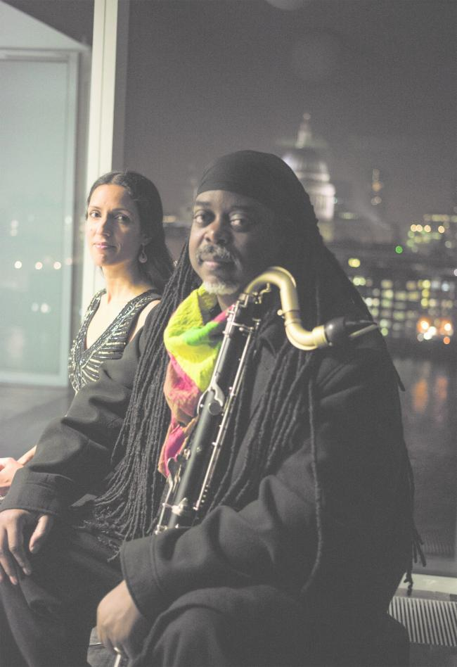 ON SONG: Courtney Pine and Zoe Rahman in concert at St Andrew's Church, Aldborough