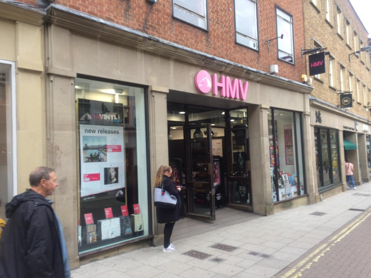 the latest b9c88 9409a HMV and Shoe Zone saved from axe in York - and fashion store ...