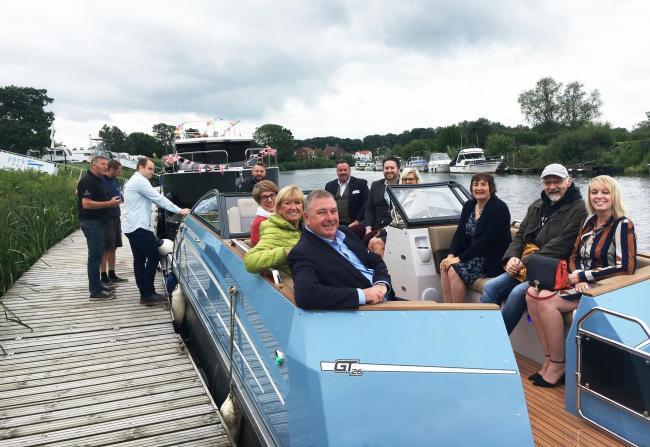 The York Business Community Network launch at York Marina