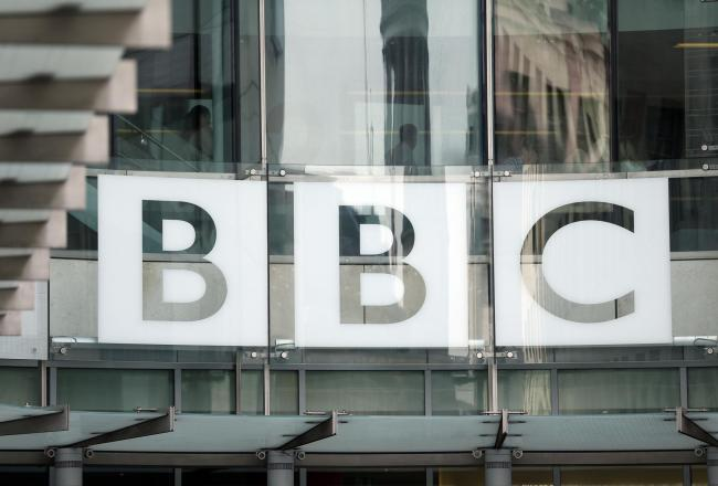 The BBC logo at Broadcasting House, London. Picture: Jonathan Brady/PA Wire